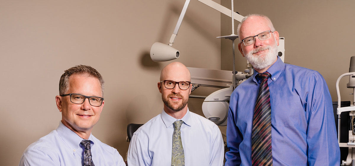 The doctors at Dimond Vision Clinic